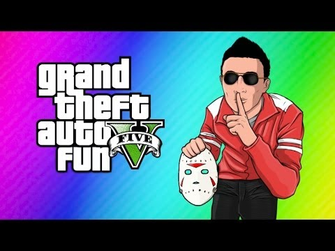 Gta 5 Online Funny Moments! (switching Bodies With H2o Delirious!) video