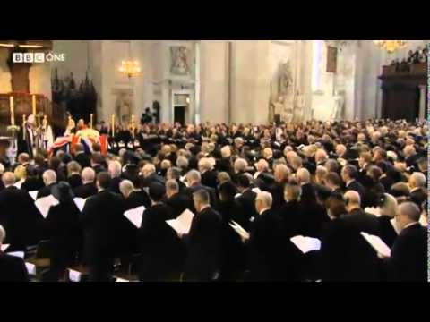 The Funeral of Baroness Thatcher I Vow to Thee My Country Sir Cecil Spring-Rice, Holst tune Thaxted