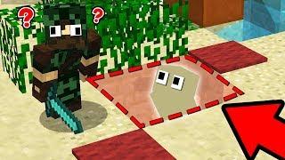 GÖRÜNMEZ OLUP HAKANI TROLLEDİM! 😱 - Minecraft