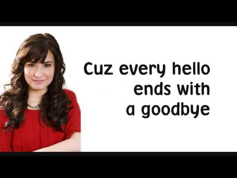 Demi Lovato Catch Lyrics Screen Hq Youtube