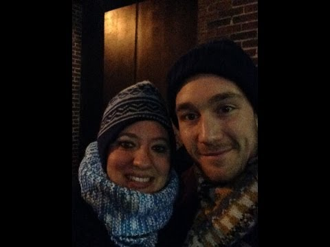 Bastille with fans in New York City 2014
