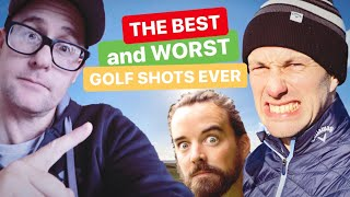 THE BEST AND WORST GOLF SHOTS MUPPET TOUR