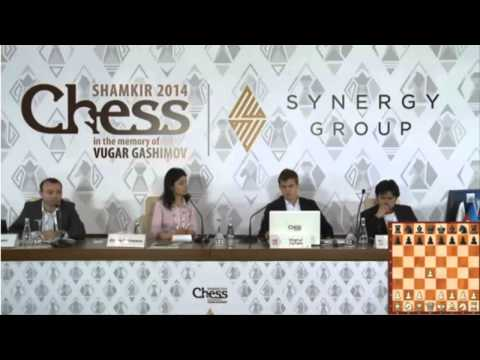 Nakamura shows his disgust after losing to Carlsen once again