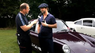 Jamiroquai's Jay Kay and his Porsche 911 2.7 RS