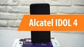 Распаковка Alcatel IDOL 4 / Unboxing Alcatel IDOL 4