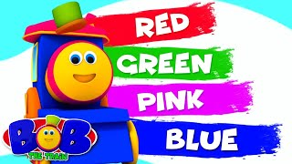 Learning Colors | Bob The Train | Kindergarten Learning Videos For Kids