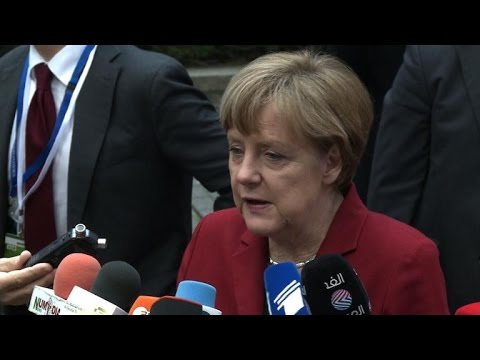 Merkel rules out Greece breakthrough at EU summit