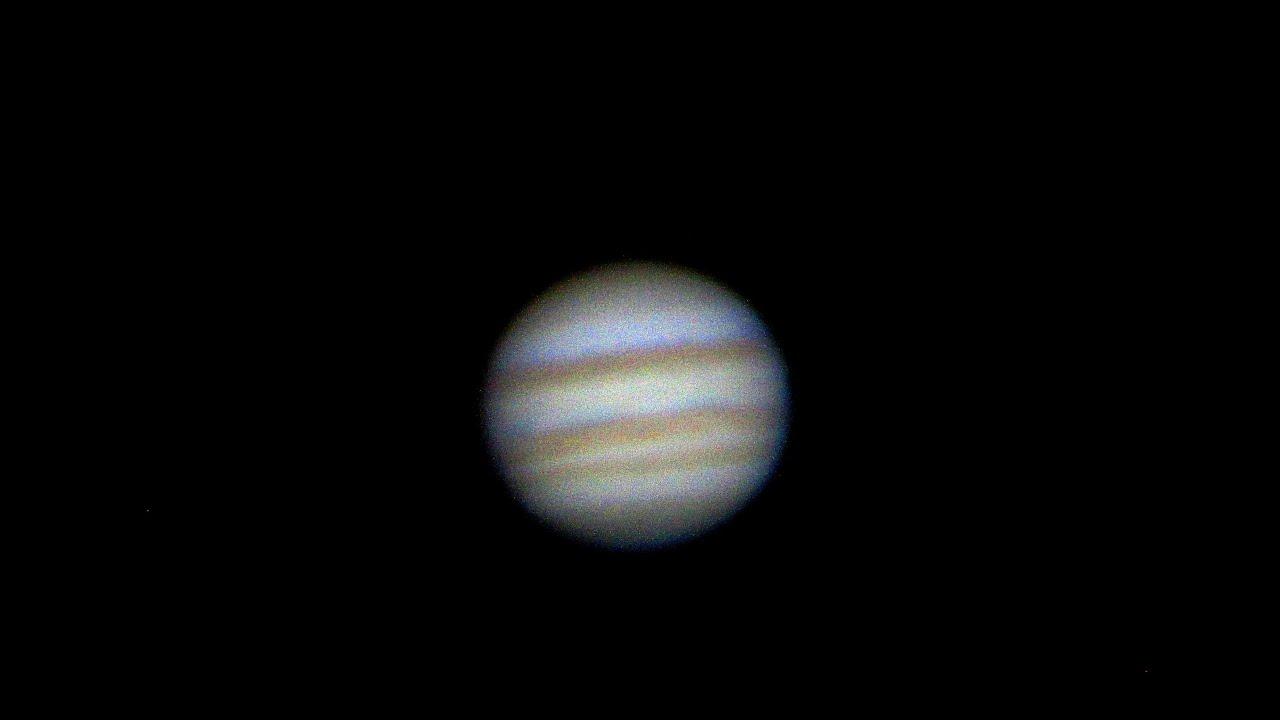 Jupiter Telescope View Jupiter Through 8 Inch Telescope