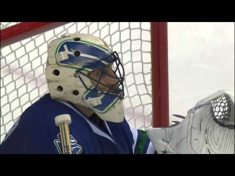 Canucks Strangest Own Goal You Will Ever See... 10/12/13 [HD]