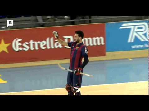 Resum del FC Barcelona 5 vs 2 CP Vilafranca