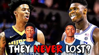 They NEVER Lost? The Truth behind Zion & Ja Morant's HS Team