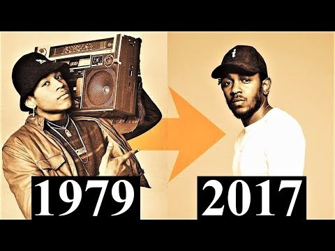 The Evolution Of Hip-Hop [1979 - 2017]