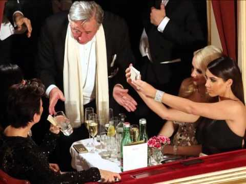 KIM KARDASHIAN : Vienna Ball Scandal -- Man In Blackface Revealed (2/27/14)
