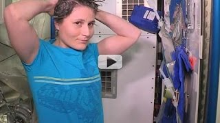 Doing Your Nails and Hair in Space - Astronaut Samantha Cristoforetti's Tips | Video