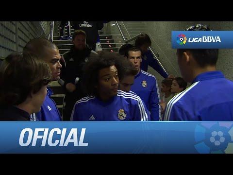 Túnel de vestuarios del Real Madrid - Levante UD