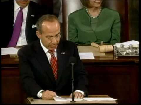 Discurso del Presidente Felipe Calderón en el Congreso de Estados Unidos de América (subtitulado)