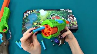 Toy Gun. Bug Attack X-shot. Two toy guns overview