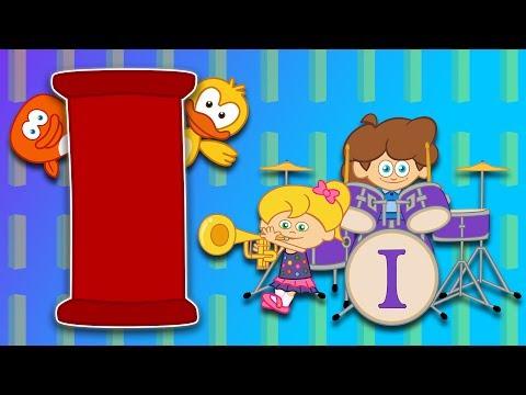 I Harfi – ABC Alfabe SEVİMLİ DOSTLAR Eğitici Çizgi Film Çocuk Şarkıları Videoları