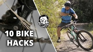 10 Bike Hacks that will Blow Your Mind! 🚴🏼 Sorta