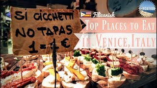 VENICE is CICCHETTI HEAVEN | ITALY FOOD GUIDE 🇮🇹