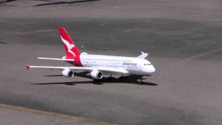 RC Model Qantas A380 Airbus