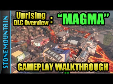 Black Ops 2 Magma Gameplay | New Map Magma Walthrough, Jumps & Spots, Tips & Tricks, Review