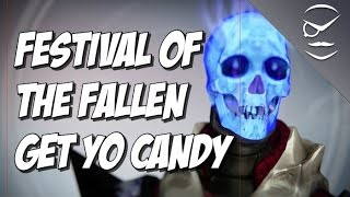 Destiny Festival Of The Lost Is Live! Trick Or Treat For Masks And Candy!