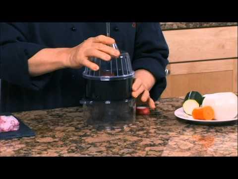 Helen Chen Episode 4 - Spiral Slicer demo (Helen's Asian Kitchen with BigKitchen.com)