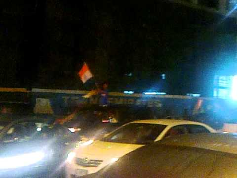 Ind Vs Sl Final Match ,dubai Roads Flooded With Indian Flags video