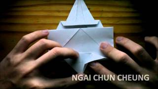 Origami Simple Elephant (tutorial)