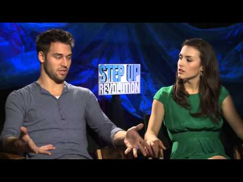 Ryan Guzman &amp; Kathryn McCormick Talk Chemistry &amp; 3D in 'Step Up Revolution'