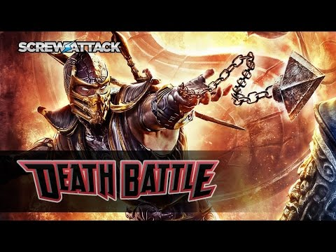 Scorpion Gets Over Here for a DEATH BATTLE! | ScrewAttack.com