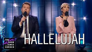 Download Lagu Kristen Wiig Struggles with 'Hallelujah' Gratis STAFABAND