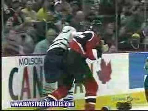 Mike Fisher vs. Darcy Tucker