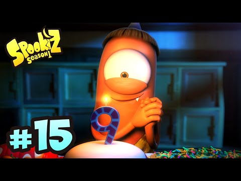 Spookiz | 115 - Birthday Boy  (Season 1 - Episode 15) | Cartoons for Children 스푸키즈