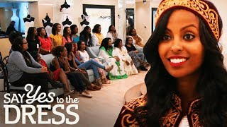 Bride Brings a 20 Person Entourage to Her Appointment! | Say Yes To The Dress Atlanta