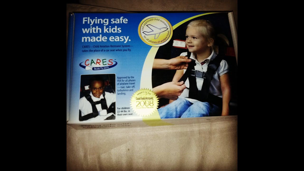 Child Care Safety Cares Child Aviation Restraint