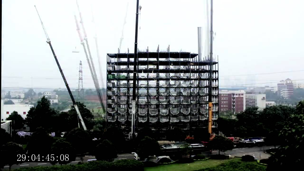 Ark Hotel Construction Time Lapse Building 15 Storeys In 2