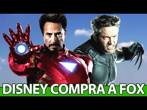 BOMBA: Marvel está completa, Disney compra Fox por BILHÕES