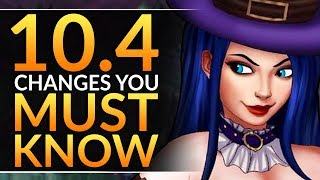 What YOU MUST KNOW in Patch 10.4 - HUGE Changes, Reworks and Meta Tips | League of Legends Pro Guide