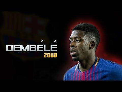 Как играет Дембеле за Барселону 2018