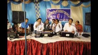 Christian Gospel Qawali Masih qawwali by Barnad rufas & Party live performance at mangolpuri