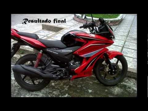 HONDA CBF 125 MODIFICADA
