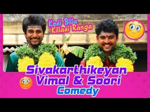 Kedi Billa Killadi Ranga | Tamil Movie Comedy | Sivakarthikeyan | Vimal | Soori | Bindu Madhavi