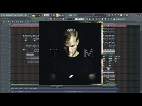 Avicii - promises of tears (tim's vocals) FL STUDIO FULL REMAKE