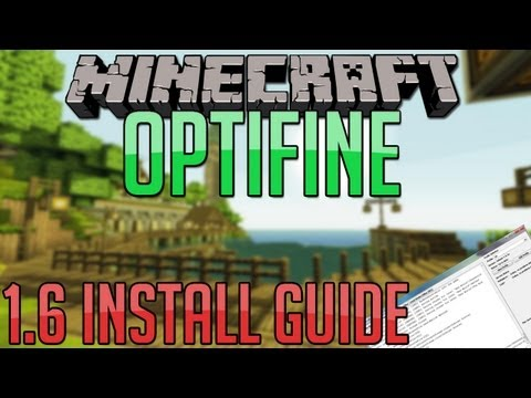 Minecraft - How to Install Optifine on 1.6.2 (New Launcher) (EASY)