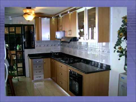Modelos de cocinas empotradas pequeñas en concreto - Imagui