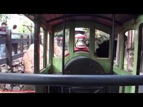 (Disneyland) Big Thunder Mountain Railroad POV (Complete Experience) Front Disneyland California