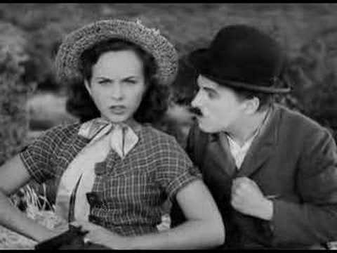 Smile, Charlie Chaplin , Modern Times, 1936 Video