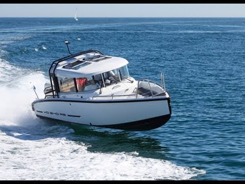 motor boats monthly test the xo240 rs open and cabin youtube. Black Bedroom Furniture Sets. Home Design Ideas